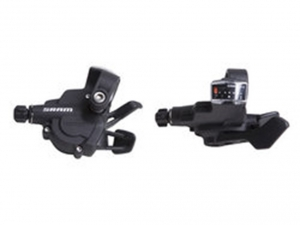 Vaihdevipu  SRAM Trigger shifter X3 Black 7 speed Rear
